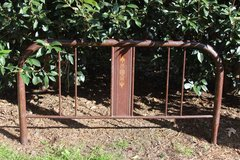 Antique Full Size Metal Bed With Rails in Macon, Georgia