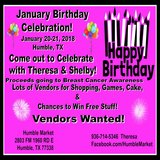 Birthday Bash - Vendors Wanted in Kingwood, Texas
