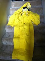 It's Raining >> Stay Dry Industrial Rain Suit, Yellow in Camp Pendleton, California