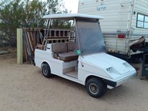 Western golf cart. in Yucca Valley, California