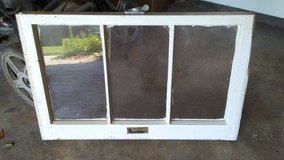 1 small vintage rectangular 3 Pane wooden window in Cleveland, Texas