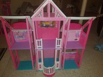 Barbie house with furniture in Lockport, Illinois