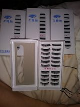 40 pairs of lashes in Travis AFB, California