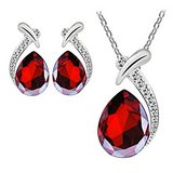 ***BEAUTIFUL Red Pendant & Earring Set***BRAND NEW in Kingwood, Texas