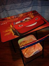 Disney Cars desk set in Spring, Texas