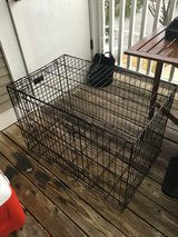 Intermediate Size Folding Double Door Dog Crate in St. Charles, Illinois