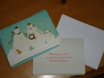 3D snowman cards in Chicago, Illinois