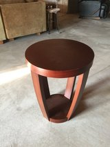 Modern side table in Oswego, Illinois