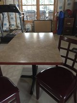 Rectangular table and 2chairs in Oswego, Illinois