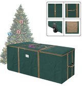 9 ft Christmas tree storage duffle with window in Baytown, Texas