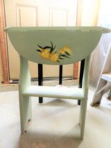 BEAUTIFUL! CUSTOM DESIGNED FLORAL SMALL DROP DOWN CONSOLE - BRAND NEW!! in Glendale Heights, Illinois