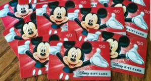 Disney gift cards in Beaufort, South Carolina
