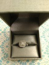 Gorgeous 14K White Gold Diamond Cluster Ring in Cherry Point, North Carolina