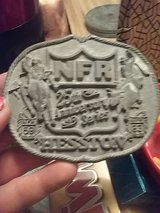 First Edition Anniversary Series NFR belt buckle in Algonquin, Illinois