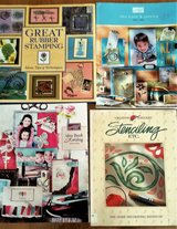 Stamping / Stenciling Books, new in Glendale Heights, Illinois