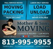 MOVING Tampa Bay since 2010 ~ Licensed & Insured #IM2374 in MacDill AFB, FL