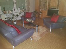 Leather Couch sits 5 in Spangdahlem, Germany