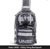 Halo UNSC Utility Sling Backpack LootCrate in Travis AFB, California