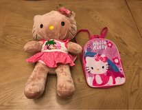 Build a Bear Hello Kitty & Backpack in Fort Bliss, Texas