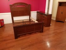 Ashley Queen Bed With Dresser! in Macon, Georgia