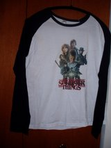 "Ladies/Girls ""Stranger Things"" baseball style T-shirt in Oswego, Illinois"