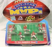1997 MVP San Francisco 49ers Norton Young #8 Jones Hanks NFL Football Set of 5 in Kingwood, Texas