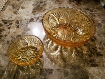 Vintage Glass Chip and Dip Bowls in Fort Campbell, Kentucky