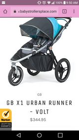 New in box GB jogging stroller in Naperville, Illinois