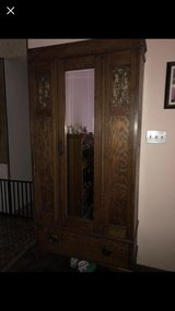 antique gun locking gun cabinet worth more than asking no scratch or mark taking great care of in Travis AFB, California