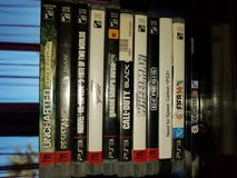 PS3 games for sale in Fort Bliss, Texas