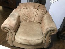 Suede brown chair in Baytown, Texas