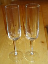 crystal champagne glasses in Naperville, Illinois
