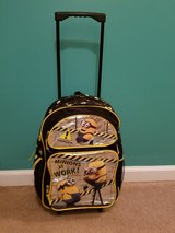 Minions rolling suitcase/backpack in Hopkinsville, Kentucky