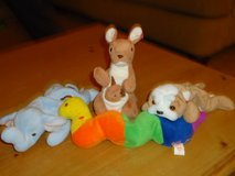4 beanie babies, no ear tags in Lockport, Illinois