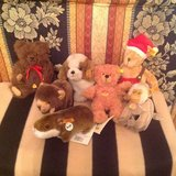 Steiff animals lot + Clemens in Ramstein, Germany