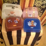 Steiff toy suitcases in Ramstein, Germany