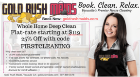 House Cleaning for Military and Vacaville Residents | Spring Time 25% Discount! in Travis AFB, California