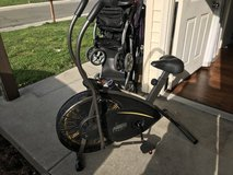 Stationary bike dual action in Travis AFB, California