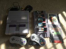 Super Nintendo and games in Schofield Barracks, Hawaii