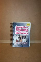 SONGWRITTER'S RHYMING DICTIONARY in Aurora, Illinois