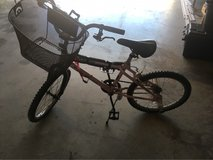 girls bicycle with basket in Lawton, Oklahoma