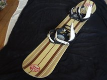 Snowboard 148cm+Bindings used - good condition - ready to run in Ramstein, Germany