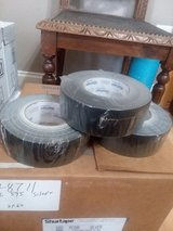 Shurtape Utility Duct Tape, 48mm X 55m, 8.00 mil Thick, Black in Byron, Georgia