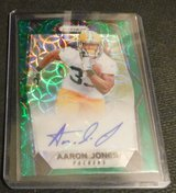 AARON JONES RC 67/99 AUTO UTEP/GREEN BAY in Fort Bliss, Texas