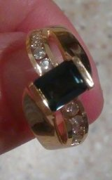 Gold, Diamonds, Sapphire..Value..$2,624...HUGE REDUCTION IN PRICE!! MOVING 1/31 in Hemet, California