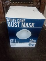 RS-810 Particulate Disposable Dust Mask White With Elastic Back, 50 Per Box in Warner Robins, Georgia