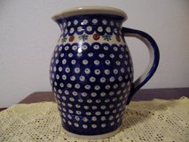 Polish Pottery Pitcher in Ramstein, Germany