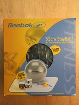 New Reebok 55cm StayBall Exercise Fitness Ball in Schaumburg, Illinois