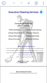 Executive Cleaning Services in Perry, Georgia