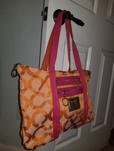 Orange coach purse in Spring, Texas
